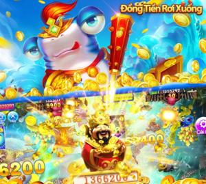 Hình ảnh dong tien roi xuong 300x269 in Tải bắn cá đồng tiền rơi xuống apk / ios đổi thưởng uy tín