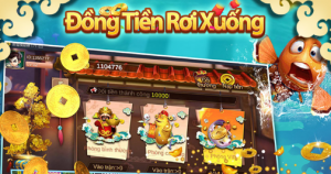 Hình ảnh dong tien roi xuong apk 300x158 in Tải bắn cá đồng tiền rơi xuống apk / ios đổi thưởng uy tín